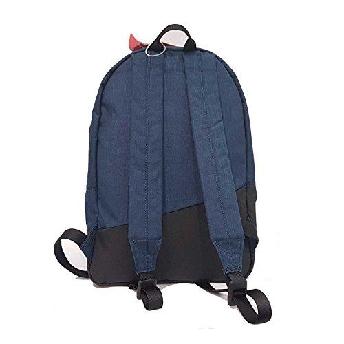 Roncato - Bolso al hombro de tela para hombre azul turquesa
