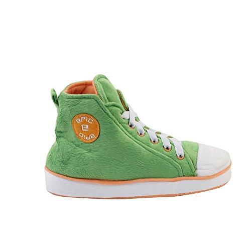 Gohom Stivali uomo Green amp;orange Chelsea rYqPwr