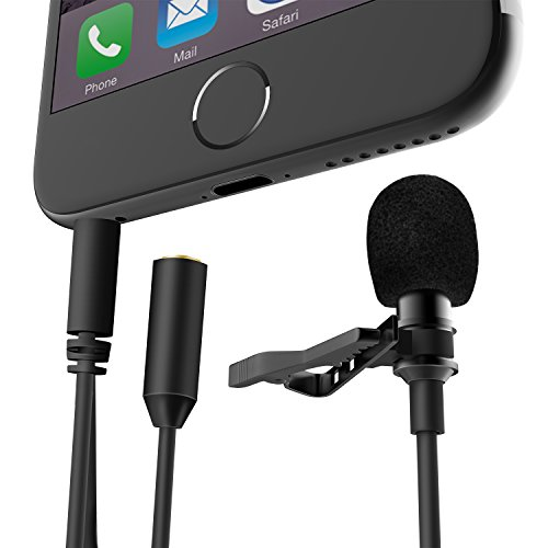 Condenser Recording Microphone Headphone Smartphones