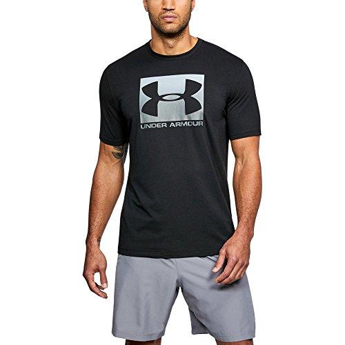 (Under Armour Men's Boxed Sportstyle T-Shirt, Black /Graphite, X-Large)
