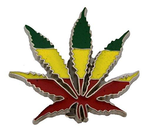 - BBKZ801 REGGAE RASTAFARIAN WEED LEAF DIE CUT BELT BUCKLE EHTIOPIA FLAG MEN WOMEN LION .
