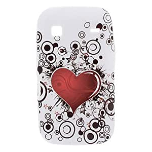 TY Heart-Shaped Style Soft Case for Samsung Galaxy Gio S5660