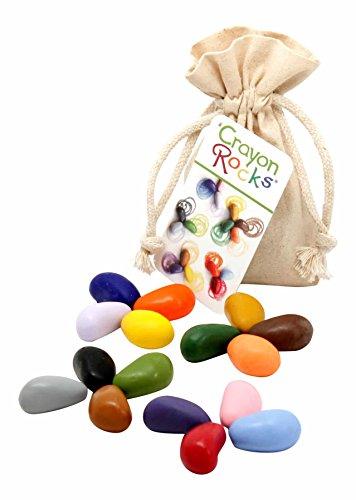 (Crayon Rocks 16 Color in a Muslin Bag)