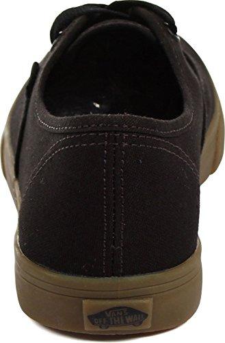 Vans U AUTHENTIC LO PRO VGYQ1W5 - Zapatillas de deporte de tela unisex, color negro, talla Fällt aus Normal (Gumsole) Black