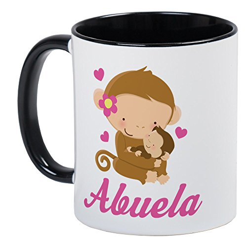 Unique Monkey Gift (CafePress - Abuela Monkeys Gift Mug - Unique Coffee Mug, Coffee Cup)
