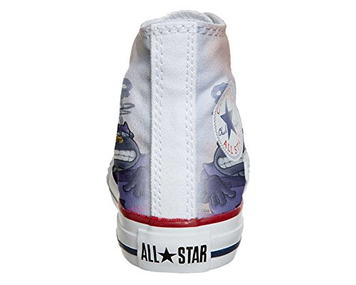 Converse All Star chaussures coutume mixte adulte (produit artisanal) Cartoon Old S