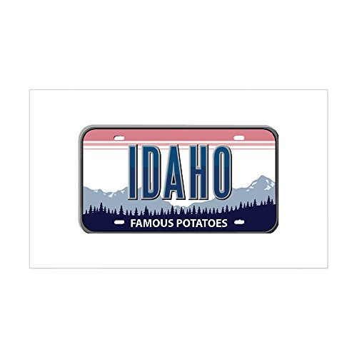 CafePress - Idaho Rectangle Sticker - Rectangle Bumper Sticker Car Decal