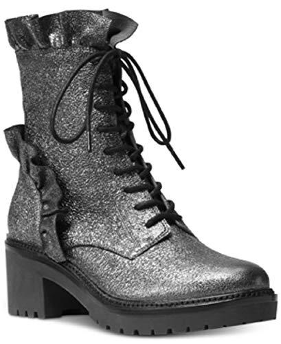 Michael Michael Kors Bella Booties Sparkle Metallic Gunmetal 7.5 M US