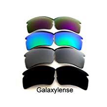 Replacement Lenses For Oakley Flak 2.0 XL Polarized Black/Silver/Green/Purple 4Pair