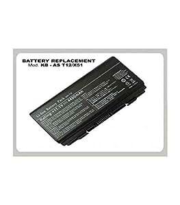 BATERIA DE PORTATIL KLONER COMPATIBLE CON ASUS P/N: KB-AST12/X51 AS T12 / X51 11.1v 4400mAH black