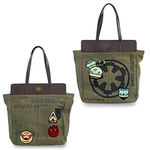Loungefly X Star Wars Rogue One Shoretrooper and Rebel Tote (Star Wars Rebel Bag)