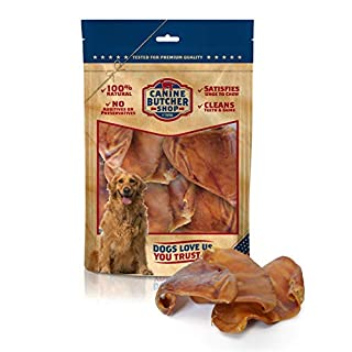 Canine Butcher Shop Pig Ears (6-Count)