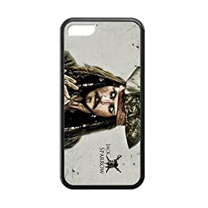 SHEP Jack Sparrow Design Personalized Fashion Phone Case For Iphone 5c