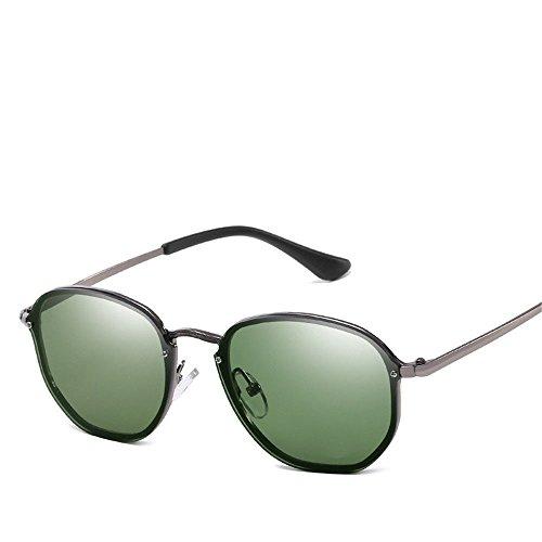 Chahua La tendance de la mode européenne et américaine dans les lunettes de soleil Lunettes de métal les hommes et les femmes LsQsKX7