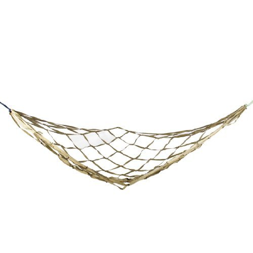 Hiking Camping Mesh Net Sleeping Bed Green Blue Khaki Nylon Hammock 70.8