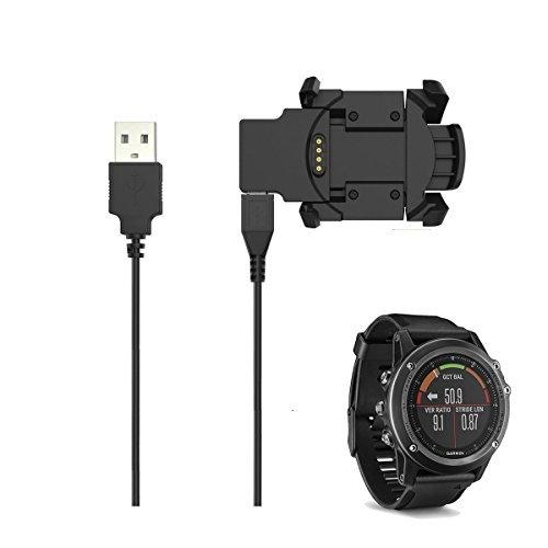 EXMRAT Garmin Vivosmart HR Charger, Cargador de Cable de Carga Clip para Garmin vívosmart HR Garmin HR Plus Actividad...