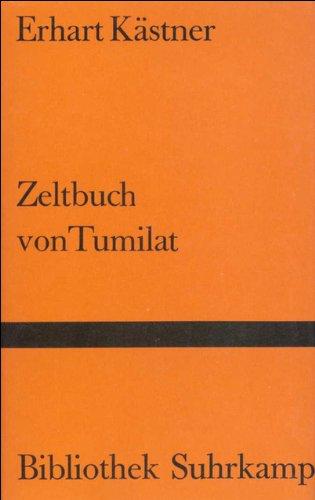 Zeltbuch von Tumilat (Bibliothek Suhrkamp)