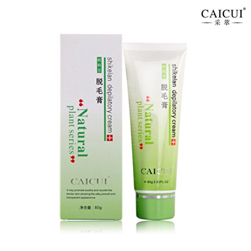 ONEMORES 2017 Hot Product Painless Depilatory Hair Removal Cream for Body Leg Armpit Unisex (Green)