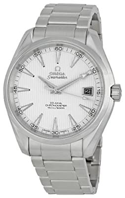 Omega Men's 231.10.42.21.02.001 Seamaster Silver Dial Watch