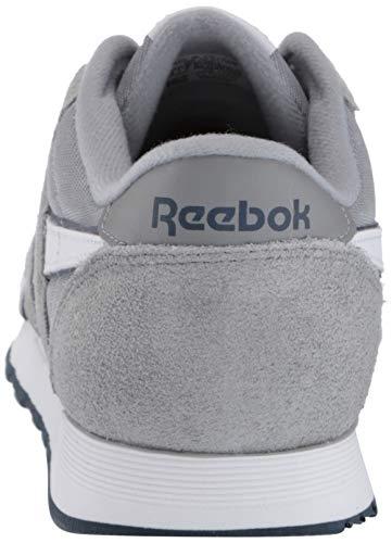 Reebok Men's Classic Nylon Sneaker, pantone/pantone, 8