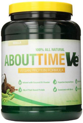 DDC Nutrition propos Supplément de protéines Temps Vegan, vanille, 2 Pound