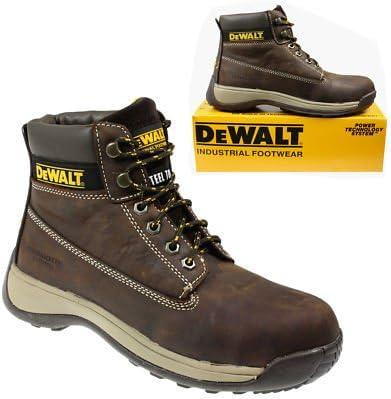 Aprendiz y punta de acero DeWalt funda de piel sintética tipo ...