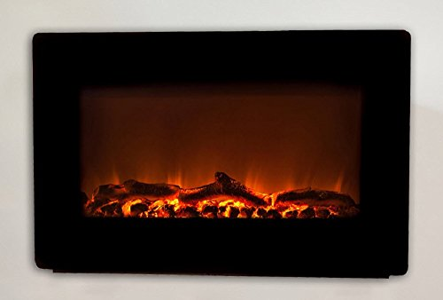 Wall Mounted Electric Fireplace, Smokeless Fireplaces, Wall