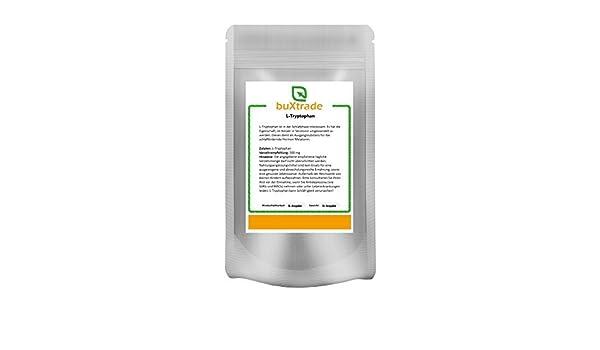 2 x 500 g triptófano puro Polvo - tryptophane L de triptófano Regeneración bienestar contra Dormir Fallo 1 kg: Amazon.es: Salud y cuidado personal