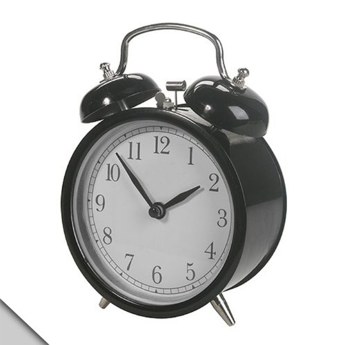Old Bell (Ikea Alarm Clock, Black)