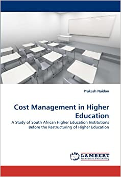 Book Cost Management in Higher Education: A Study of South African Higher Education Institutions Before the Restructuring of Higher Education