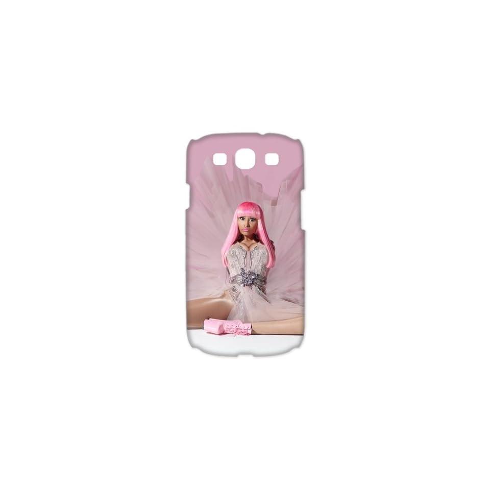 Custom Nicki Minaj Case For Samsung Galaxy S3 I9300 (3D) WSM 376