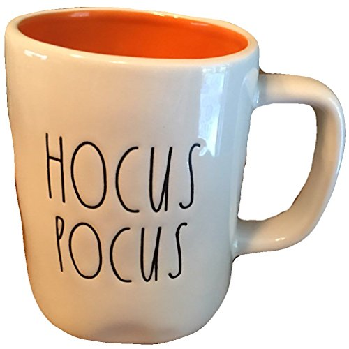 Rae Dunn Hocus Pocus Large Letter Halloween Cup Mug Artisan -