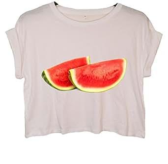 Minamo - Camiseta sin mangas - para mujer blanco small