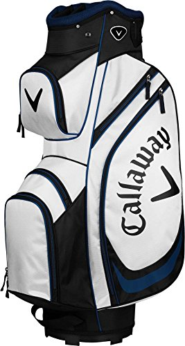 Callaway X-Cart Golf Bag (White/Navy/Black, One Size)