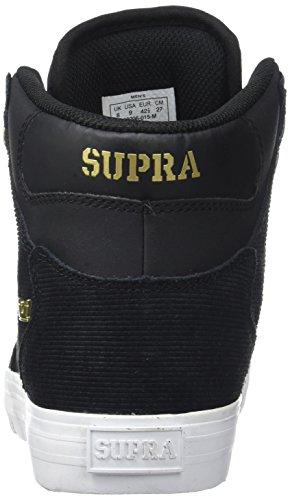 gold Negro Supra Zapatillas Para Hombre black Vaider TnTzUqOR