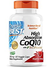 Doctor's Best High Absorption CoQ10 (200 mg)