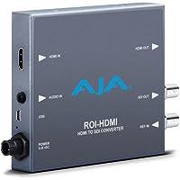 AJA ROI-HDMI HDMI to 3G-SDI Mini Converter with Region of Interest (ROI) Scaling and Direct HDMI Loop-through