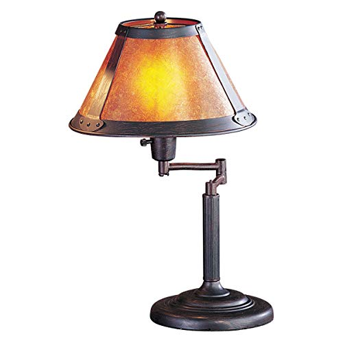 Desk Lamps 1 Light Fixture with Rust Tone Finish Metal Material E26 18