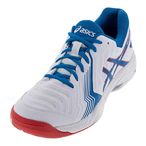 game® 6 race White Gel Blue Pour Asics Chaussures Homme RqB4w676