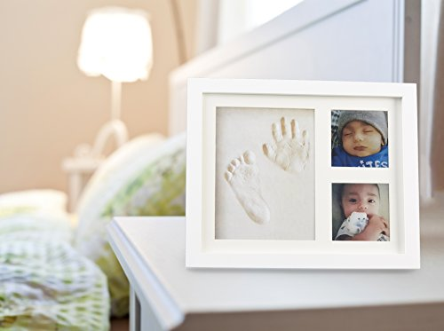 Baby Handprint Picture Frame Clay Kit for Newborn Girls and Boys by Baby Yei - The Photo Frames are Fully Painted White-Prevents Mold Creation-Safe for Treasuring your Angel's First Precious Memories by Baby Yei (Image #8)