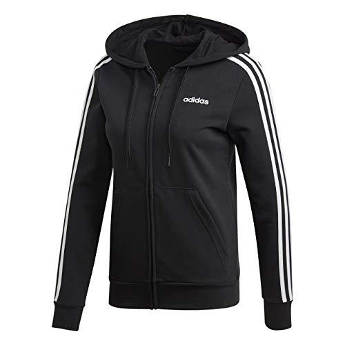 E Fz Hd Noir 3s W blanc Femme Adidas shirt Sweat ulKc3FJT1