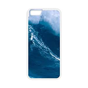 iPhone 6 Plus 5.5 Inch Cell Phone Case White Hawaiian Surfing OJ490166