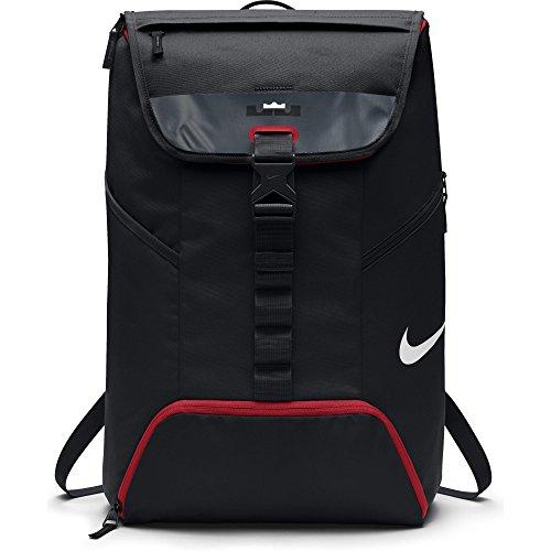 Nike Mens Lebron Top - Mens Nike LeBron Max Air Ambassador Backpack Black/University Red Size One Size