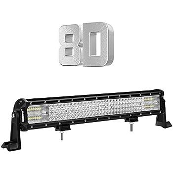 Rigidhorse 20Inch 468W Quad Row LED Light Bar Spot Flood Combo Beam Off Road Light Bar High Bright for Jeep SUV Truck ATVs
