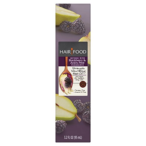 Hair Food Oil - Hair Food Blackberry & Anjou Pear Strength Nourishing Hair Oil 3.2 fl oz, pack of 1