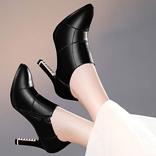 Tendencia Fino Zapatos Tacones Para Mujeres Moda Plataforma Altos Tacón Pingxiannv Con De qSBHU1