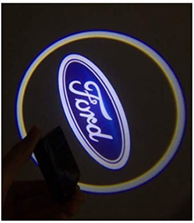 Universal Wireless Car Door Led Projector Lights Upgraded Car Door Welcome Logo Projector Lights for All Car Models 2Pcs of Car Door Lights Logo Projector FIT V W 3