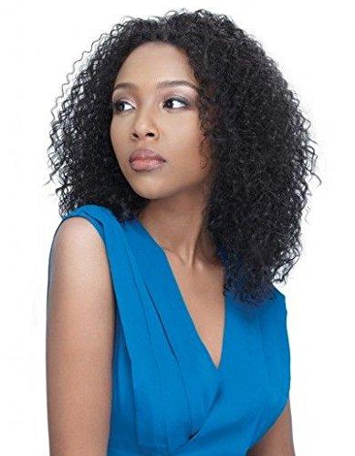 Magic Wig World Short Trendy Dark Chestnut Brown Curly Sprial Afro Fashion wig