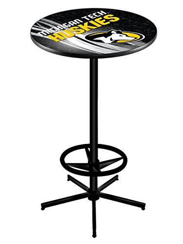 Holland Bar Stool Michigan Tech University Officially Licensed Pub Table, 28