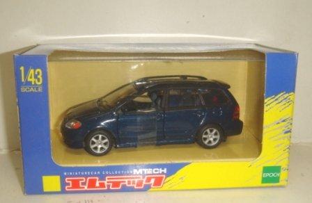 1/43 トヨタ カローラ フィールダー(ブルー) 「MTECH -エムテック- T-02-C」 48120